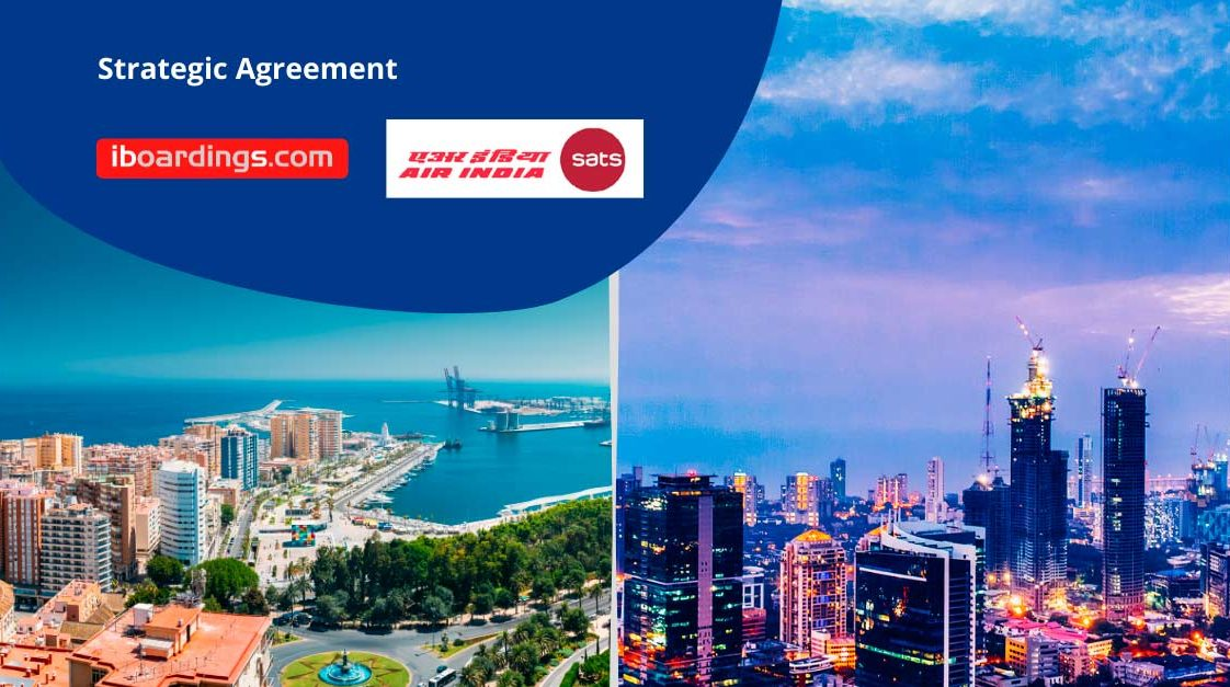 STRATEGIC AGREEMENT WITH AIR INDIA SATS
